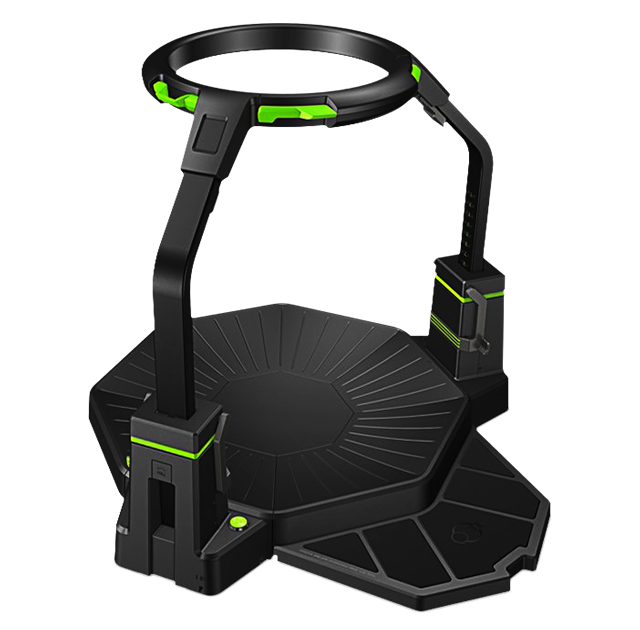 Virtuix Omni treadmill designed for VR