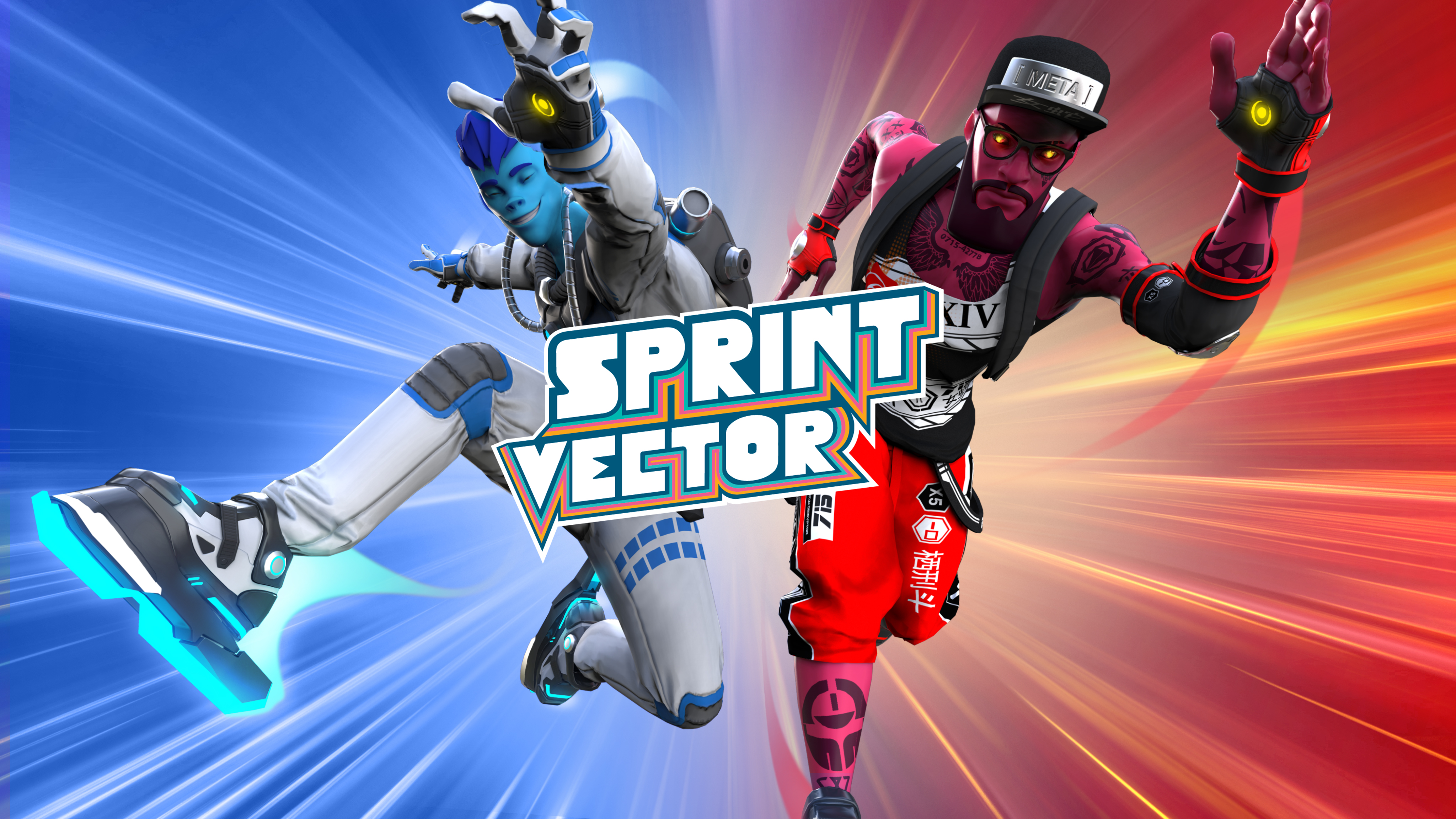 Sprint Vector VR game by Survios